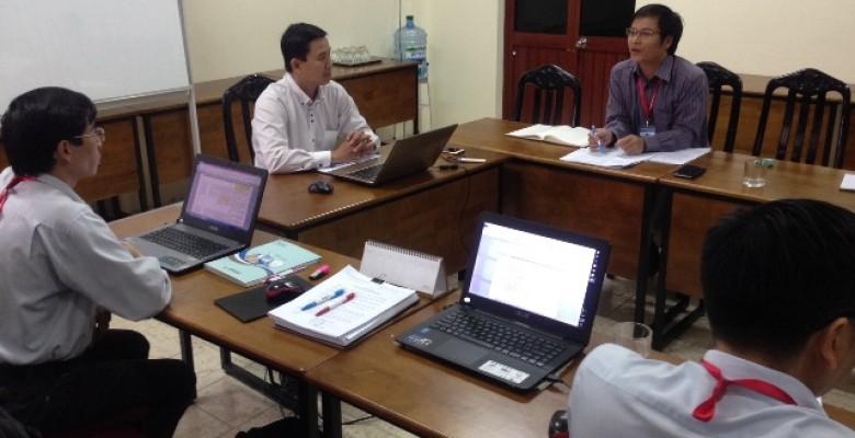 Khảo sát công tác đảm bảo chất lượng tại các phòng – ban chức năng,  chuẩn bị tự đánh giá chất lượng giáo dục Trường