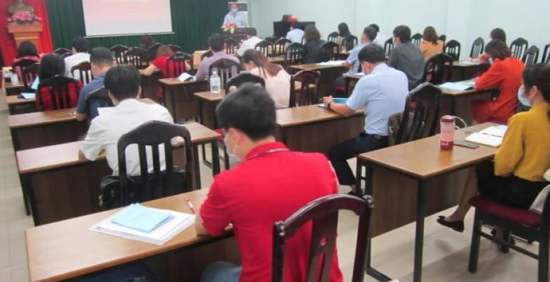 Trường Đại học Văn hóa Tp.HCM tổ chức Hội nghị tập huấn nghiệp vụ kiểm tra công tác coi thi kỳ thi tốt nghiệp THPT năm 2020